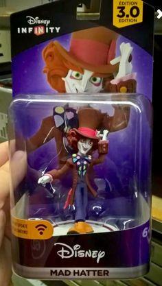 Disney Infinity 3.0 Alice in Wonderland- Alice through the looking glass figure Mad Hatter
