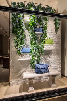Asprey Window Display | Morning Glory by Millington Associates