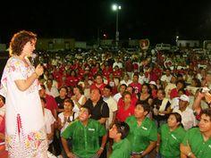 A los ciudadanos de Yucatán les digo fuerte y claro, en mí tendrán la mano que los ayude a seguir caminando con dignidad por la vida