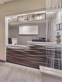 26 best Ideas for medical office desk decor reception areas Clinic Interior Design, Clinic Design, Healthcare Design, Medical Design, Medical Office Decor, Dental Office Design, Home Office Design, Office Designs, Office Reception Area