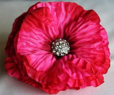 Deluxe Pink Flower Fascinator by dixieheartless on Etsy, $15.00