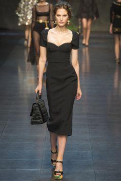 Dolce & Gabbana Runway Show, Milan Fashion Week, Ready-to-wear, summer-spring 2014, #MFW #RTW #Fashion from Vogue.fr