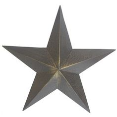 """This Black 5-Point Tin Star is the perfect way to add Western flair to your home or office. With a lightly crackled distressed finish, this star will add timeless beauty to your favorite room!        Dimensions:      Width: 21 3/4"""""""