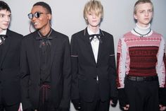 Kris Van Assche melded the romanticism of 80s new wave with the grunge attitude of 90s skaters this season for Dior Homme fall/winter 16