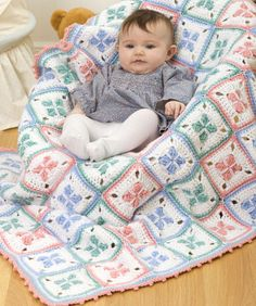 Baby Checks Blanket - PDF Pattern <3