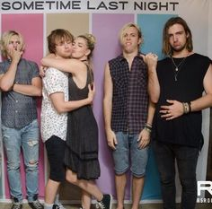 The boys reactions to rydellington though.... ♡♡♡ LOL. Ross is thinking or surprised idk, Riker is disgusted, and Rocky is sad that he doesn't have what Ellington has.