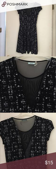 Urban Outfitters black and white mesh dress Urban Outfitters black and white mesh dress Urban Outfitters Dresses Mini