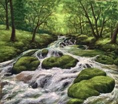 Felted Artwork-Original felted landscapes by Tracey McCracken Palmer. Wet felting and needle felting techniques are used to create beautiful works of art.