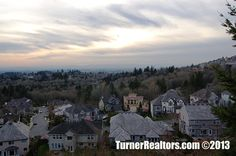 Spectacular Views from the Forest Heights area - Portland, Oregon. Walking Paths, Common Area, Portland Oregon, The Neighbourhood, California, Sunset, Green, Outdoor, Outdoors