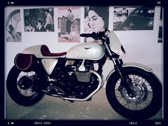 Moto Guzzi v7  The Lady Bike