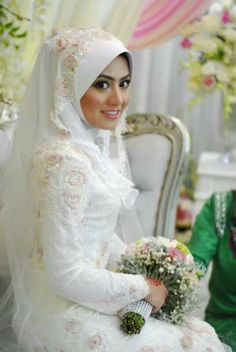 Beautiful muslim bridal