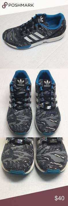 the best attitude dc505ad0a adidas zx flux prism size 8