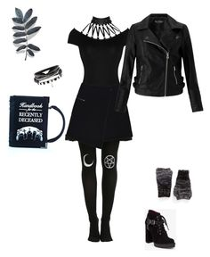 """""""Recently released."""" by sophiepinkcheeks on Polyvore featuring Killstar, MARC CAIN, Miss Selfridge, Rebecca Minkoff and BCBGeneration"""