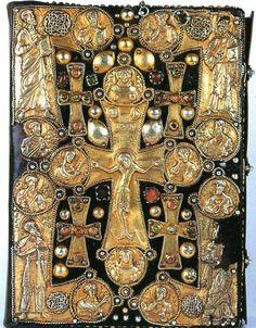 Binding of the Bardzrberd Gospel from 1248. Armenia.