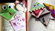 Colecionando Livros: { Criatividade } Marcadores de Páginas