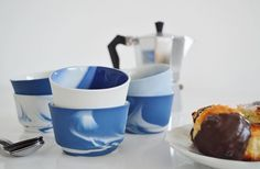 Take it slow, have some coffee and enjoy. You can find these beautiful cappuccino cups by Alissa + Nienke en Vij5 in the shop - BijzonderMOOI* - dutch design online