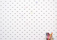 Drawing on the Walls: Wallpaper Your Kids Can Color