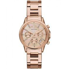 b0b82df16 Armani Exchange Reloj Armani Exchange - El Palacio de Hierro Reloj Dama,  Estilo Femenino,