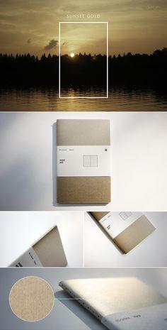 """소재와 기능의 본질 백상점 """"sunset gold"""" limited edition"""