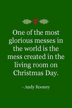 One of the most glorious messes ...