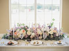 Romantic Great Gatsby Wedding Tablescape // Photography ~ CJK Visuals