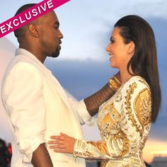 Kim Kardashian 'Talking Babies' With Kanye West