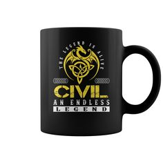The Legend is Alive CIVIL An Endless Legend Name Mugs #Civil