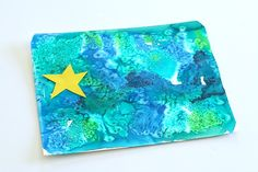 How to Catch a Star by Oliver Jeffers is one of our favorite children& books. We were inspired by the beautiful illustrations in the story to create this watercolor ocean and star art for kids! Kindergarten Art, Preschool Crafts, Art Activities For Kids, Art For Kids, Book Activities, Book Projects, Projects For Kids, Kids Inspire, Star Art