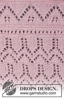 DROPS Pattern Library: Lace patterns