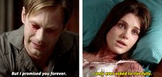 True Blood - Eric saying goodbye to Nora - 6x07 - such a sad scene
