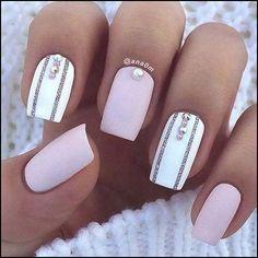 113+ elegant nail designs for short nails - page 24 | myblogika.com