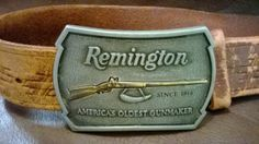 Remington Belt Buckle  Limited Edition  by LisasTradingPost, $27.50