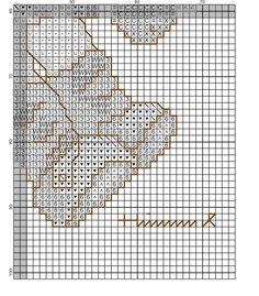 """Apple Tree Boy"" Hummel cross stitch pattern  -  1C"