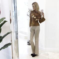 #FashionConfessions: Knit sweater season with pom-poms. www.iHeartMarina.com #marinaberberyan