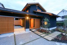 Building Layout, Asian Architecture, Interior And Exterior, Interior Design, Colour Pallette, Japanese House, House 2, Home Projects, Porch