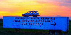 A Faucher`s Auto Repair Sunrise in the RM of Ste. Muscle Cars, Sunrise, Outdoors, Trucks, Travel, Viajes, Truck, Sunrises, Trips