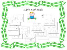 Kindergarten Common Core Standards Aligned Math Work