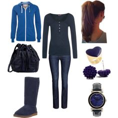 """Winter outfit"" by jenna-bo-benna on Polyvore"
