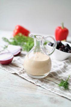CREAMY TAHINI VINAIGRETTE DRESSING » perfect for any salad {vegan, gluten-free}