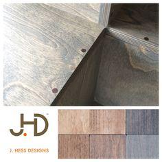 Detail image of the veneered plywood version of the PAC POP Table by J. Hess Designs.  #pacpoptable #veneer #jhessdesigns