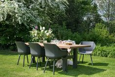 Outdoor Dining, Outdoor Decor, Outdoor Gardens, Outdoor Furniture Sets, Exterior, Table, Home Decor, Al Fresco Dinner, Decoration Home