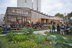 See some of Europe's best designed public spaces Atelier Architecture, Garden Architecture, Modern Architecture, Architecture Diagrams, Architecture Portfolio, Pavilion Architecture, Urban Agriculture, Urban Farming, Design D'espace Public