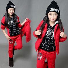 32.21$  Buy here - https://alitems.com/g/1e8d114494b01f4c715516525dc3e8/?i=5&ulp=https%3A%2F%2Fwww.aliexpress.com%2Fitem%2FSpider-Man-Children-s-Clothing-Children-Suit-Three-piece-Set-2016-Autumn-Children-Coats-Sportswear-Autumn%2F32764260682.html - Spider Man Children's Clothing Children Suit Three-piece Set 2016 Autumn Children Coats Sportswear Autumn Winter Boys girls