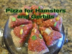 How to make a pizza for hamsters and gerbils - YouTube