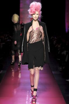 Jean Paul Gaultier Spring 2012 Couture Fashion Show - Frida Gustavsson (IMG)