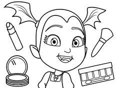 vampirina 12 ausmalbilder für kinder. malvorlagen zum