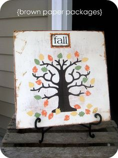 Fall Home Decor- oh @Jò in Wonderland Madison I need this and so do you!