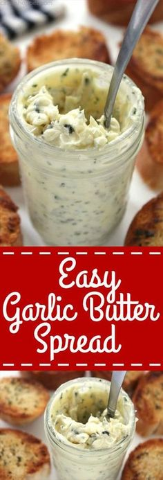 Make your own homemade garlic bread at home with this super Easy Garlic Butter Spread.
