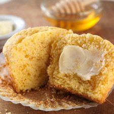 Gluten-Free Corn Muffins: Light and tender, just the way grandma used to make them. #TadaMoments