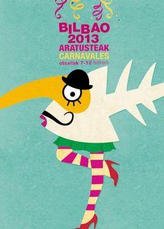 Finalista Concurso Cartel Carnaval 2013 Bilbao - Carnavalea